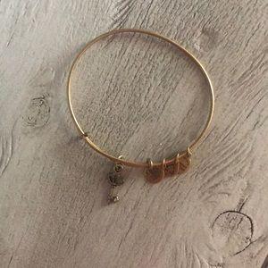 Alex & Ani Key Charm Bracelet